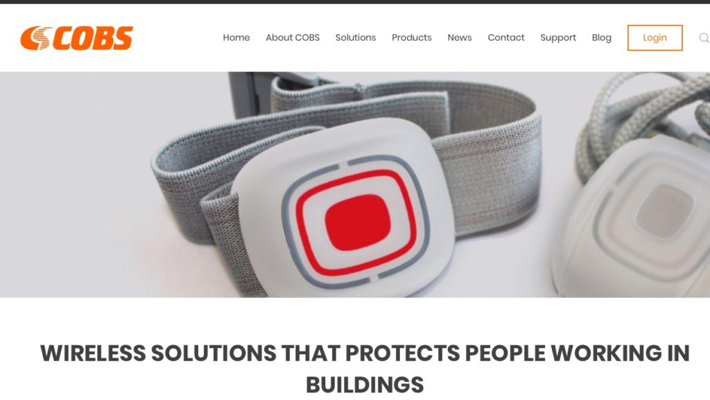 Cobs new website for UK market